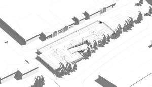 Car Park Design for a new raised deck car park by Metpark UK