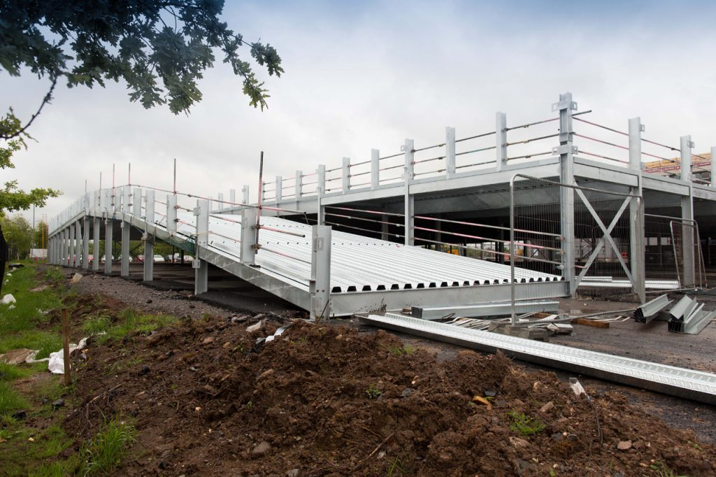 Project overview - New 253 space car Park in somerset 2