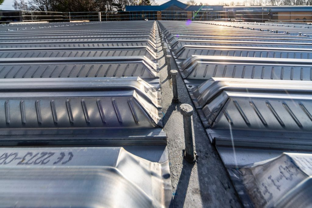 composite car park deck with engineered ends - improving speed of car park construction