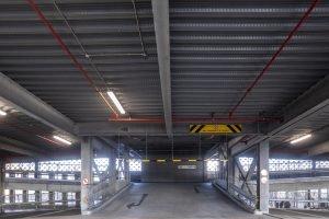 An example of split level car park design