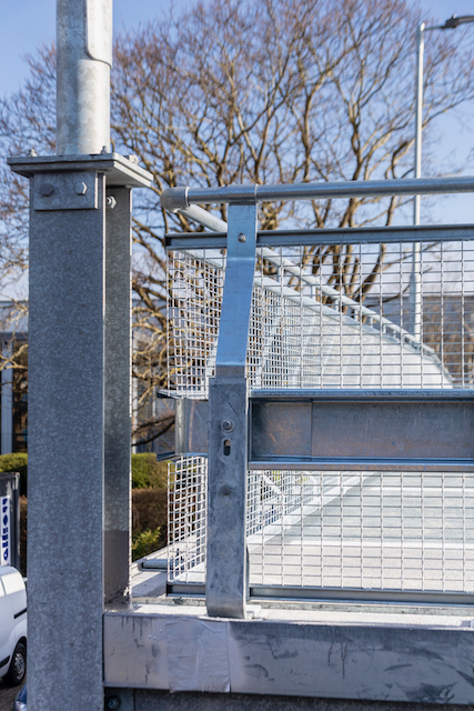 car park safety barriers by Metpark UK