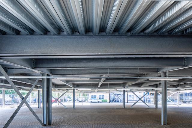 raised deck car park by metpark car park designers and construction contractors