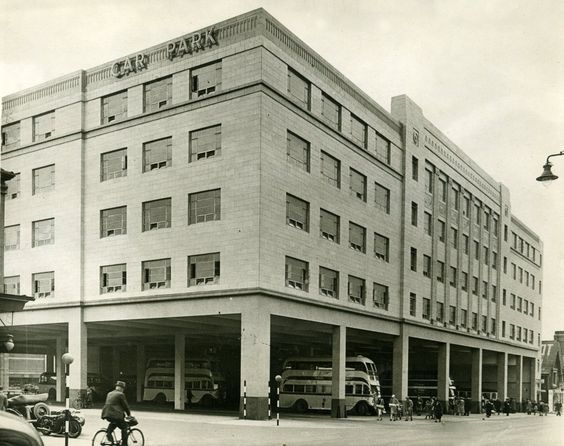 car park built in the 1930s in Blackpool, believed to be the first multi storey