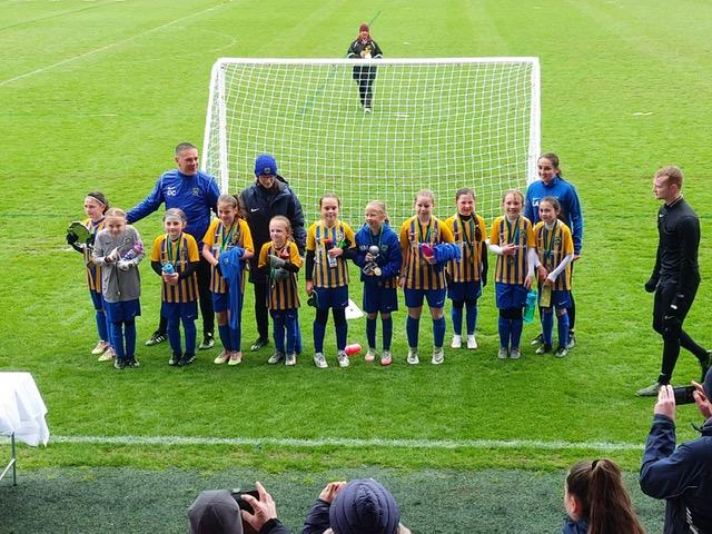 Euxton Under 9 Girls Football Team